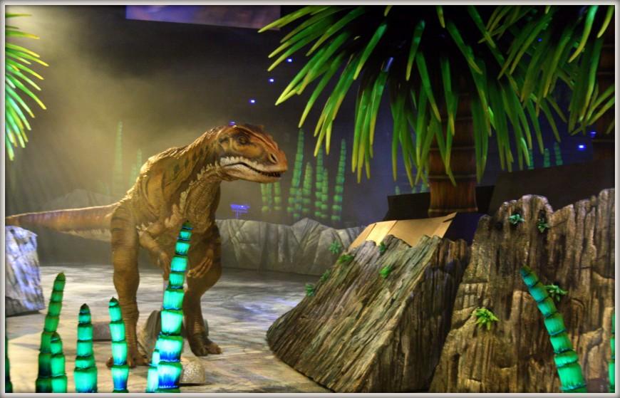 walking with dinosaurs pesaro marzo 2013