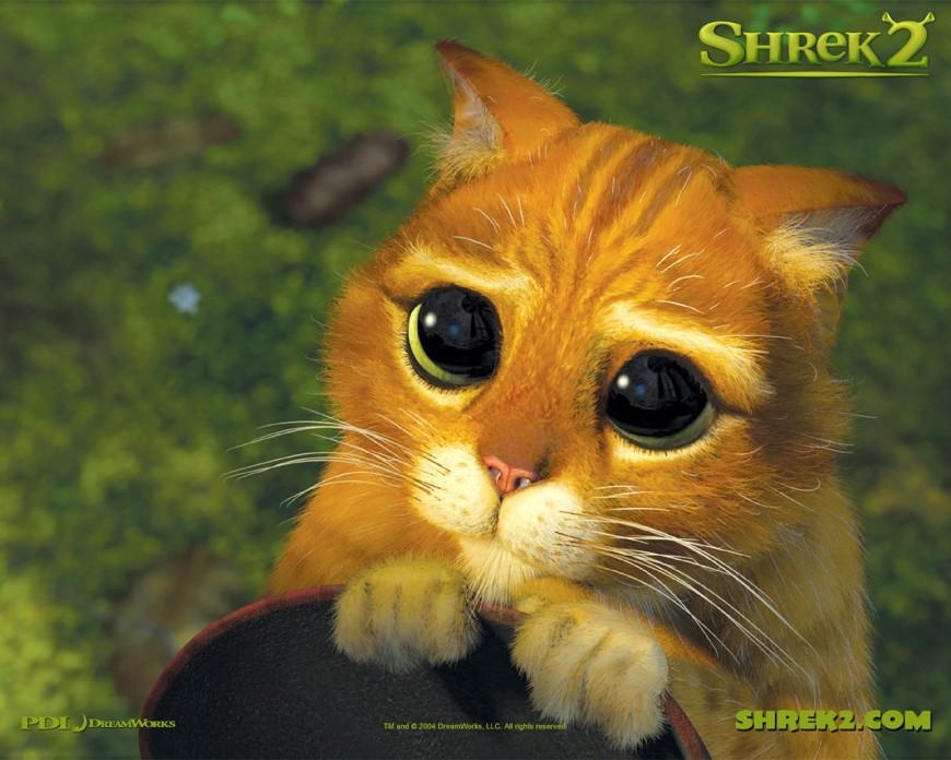 un-wallpaper-del-gatto-con-gli-stivali-per-il-film-d-animazione-shrek-2-118671