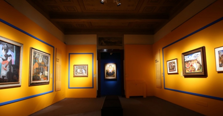 la-collezione-gelman-arte-messicana-del-xx-secolo-veduta-della-mostra-presso-palazzo-albergati-bologna-2016